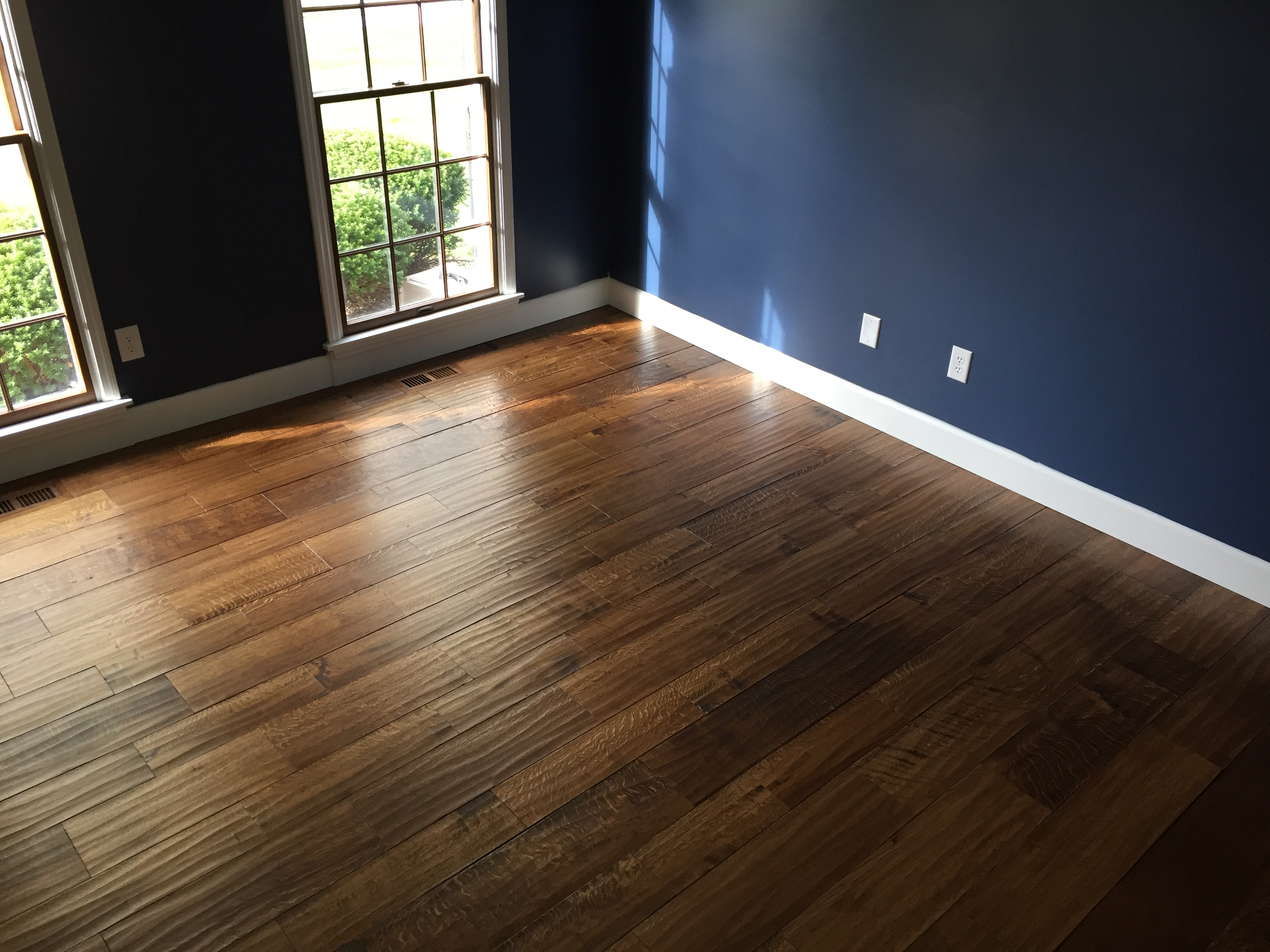 Custom residential wood floor missouri floor company for Residential wood flooring