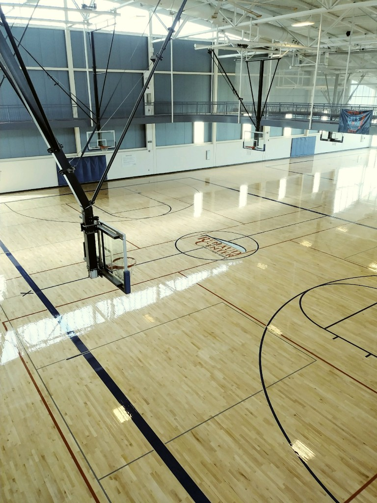 wood gym floor