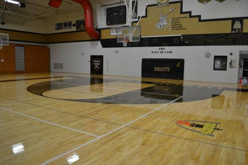 Wood Gym Floor