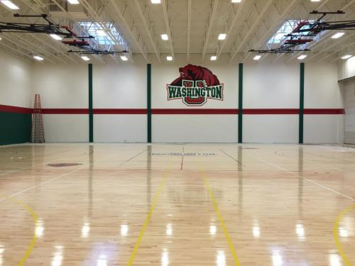 Finished Gym Floor
