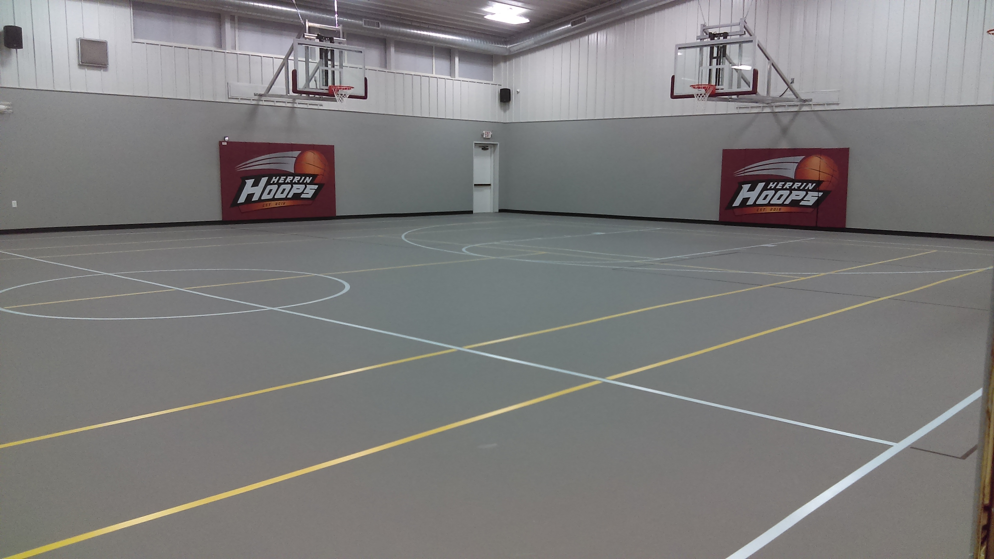 Private Residence Gym Floor